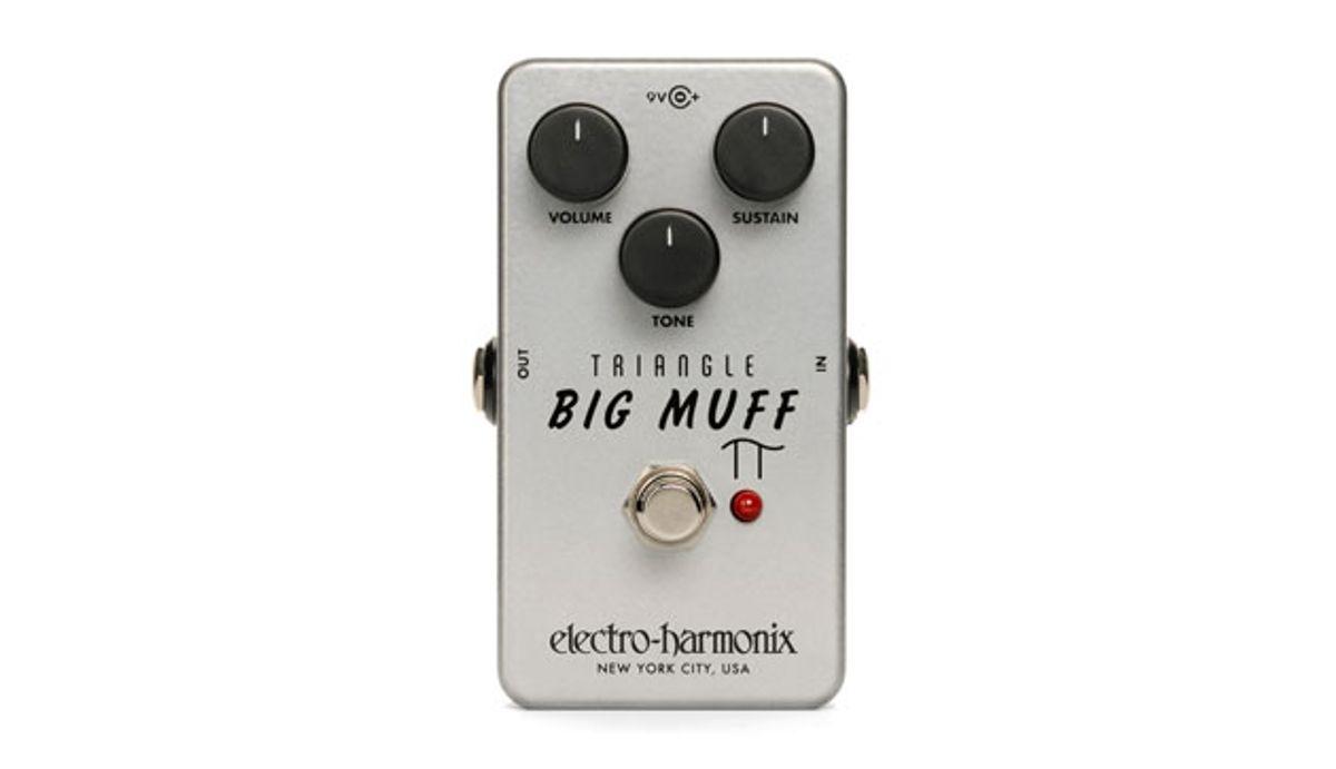 Electro-Harmonix Re-Releases the Classic Triangle Big Muff Pi