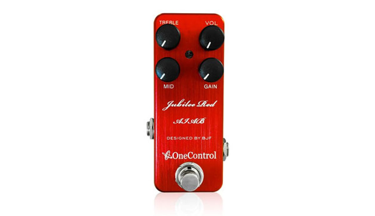 One Control Launches the Jubilee Red Amp-in-a-Box