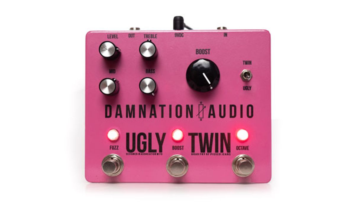 Damnation Audio Releases the Ugly Twin Boosted Octave Fuzz