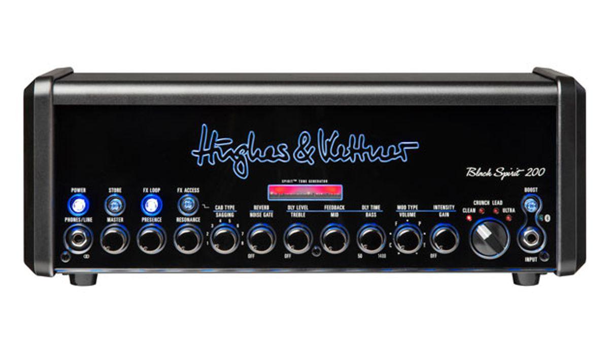 Hughes & Kettner Announces the Black Spirit 200
