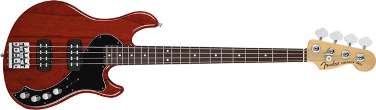 Fender Releases Dimension Series Bass