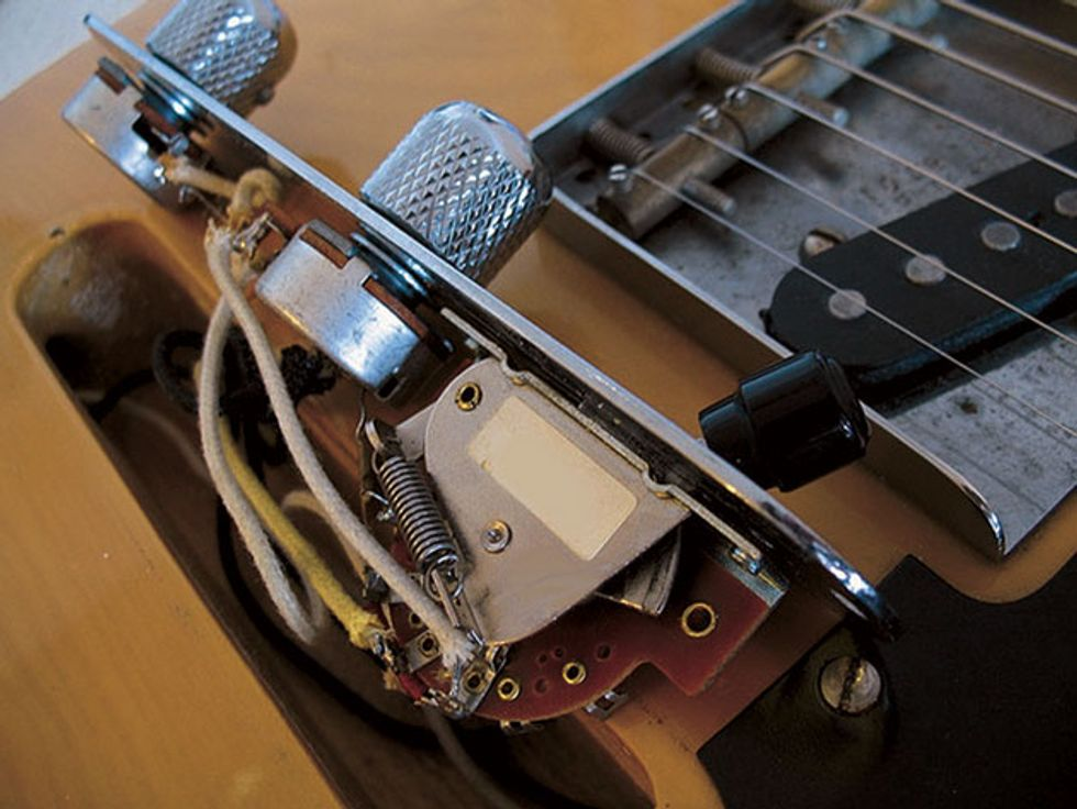 mod garage how to wire a stock tele pickup switch