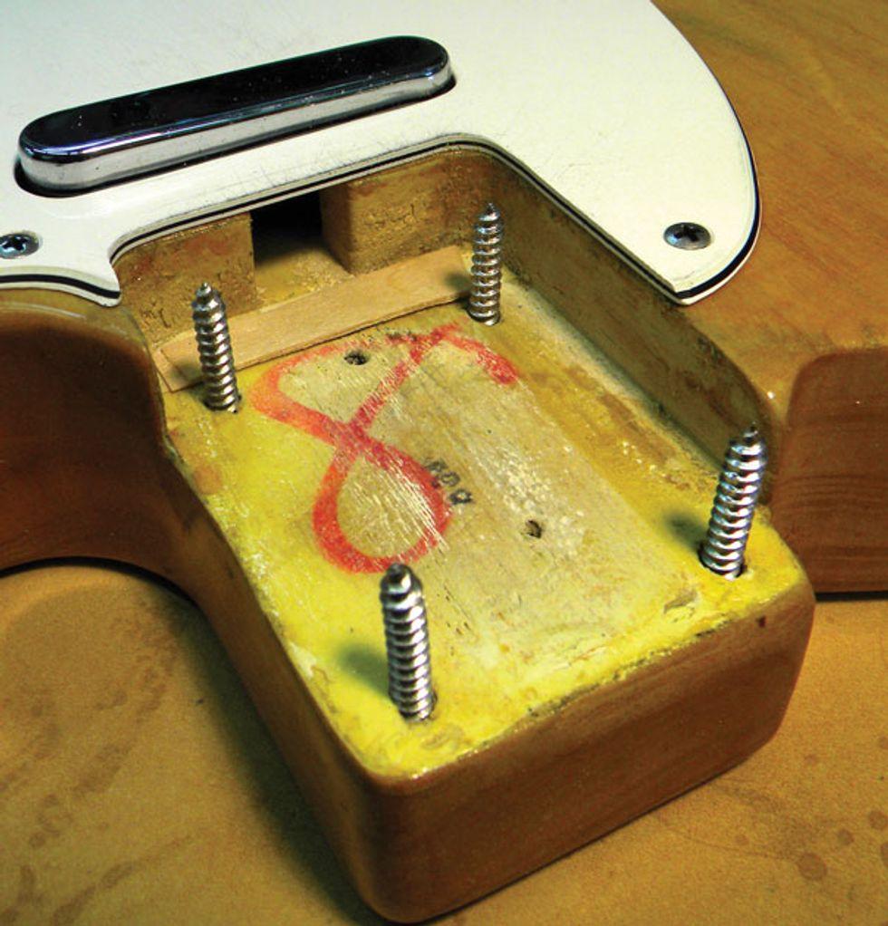Image result for guitar neck shims