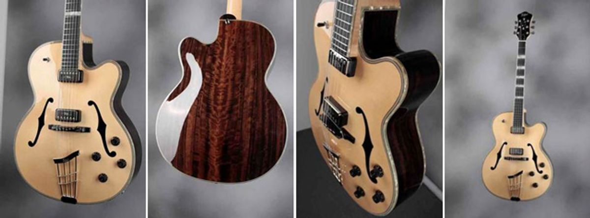 Höfner Announces the New President Limited Edition Guitar