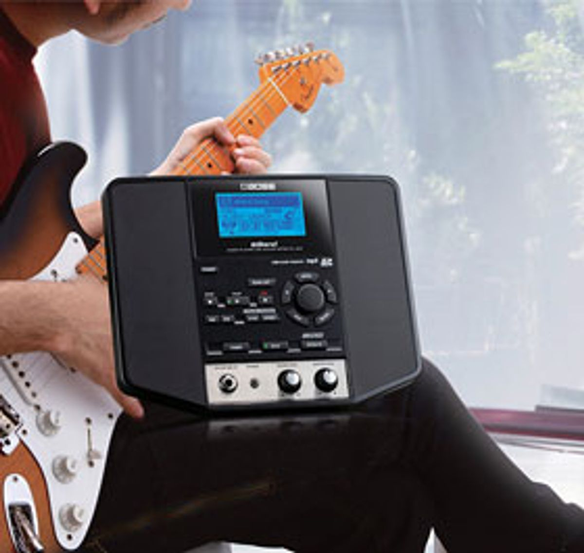 BOSS Unveils eBand JS-8 Audio Player for Guitarists