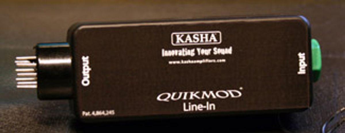 Kasha Amps Unveils Quikmod Mini for Tube Amps