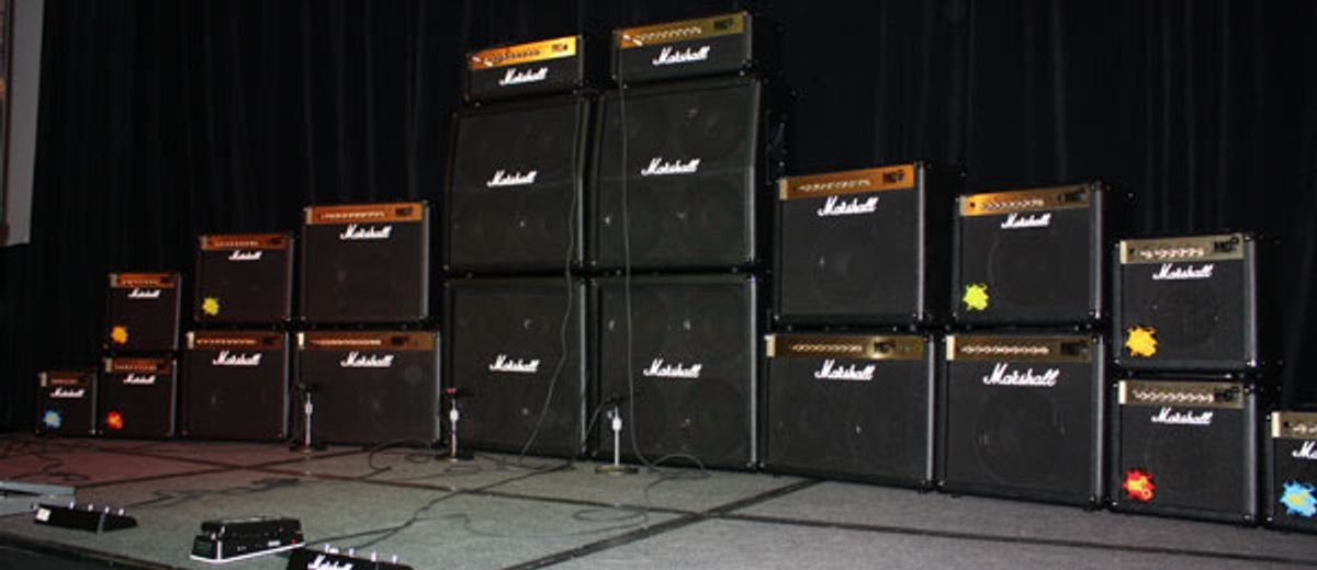 From NAMM: Marshall MG Series