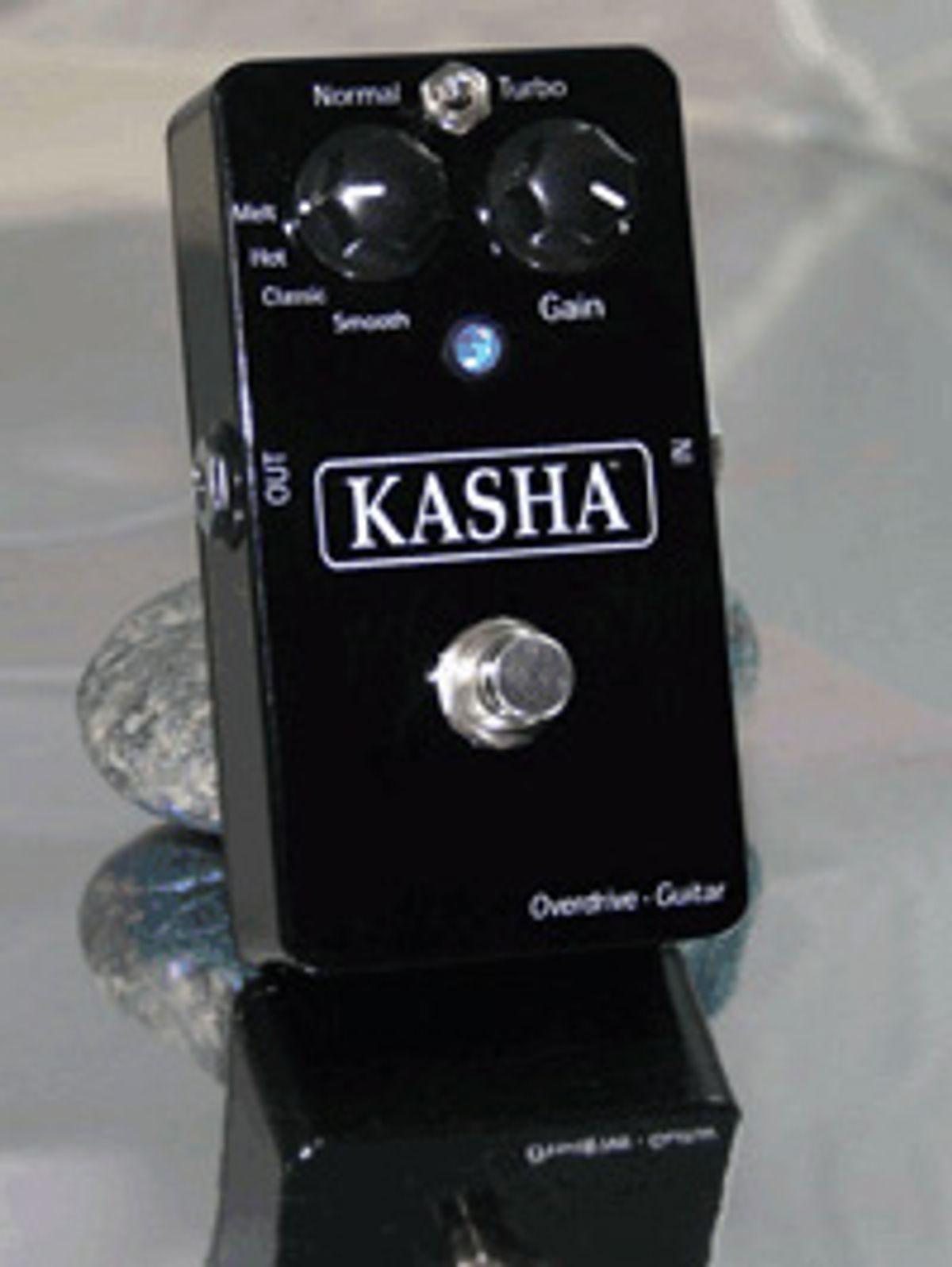 Kasha Announces Four-Channel Overdrive Pedal