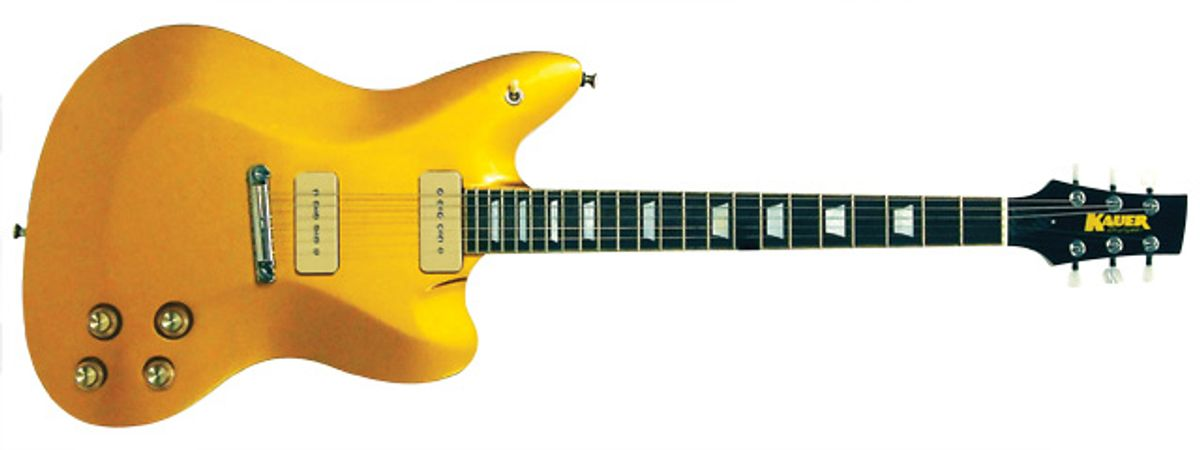 Kauer Guitars Daylighter Standard Electric Guitar Review