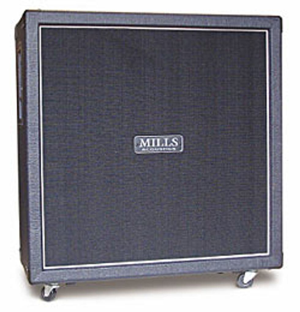 Mills Acoustics Afterburner 4x12 Cab