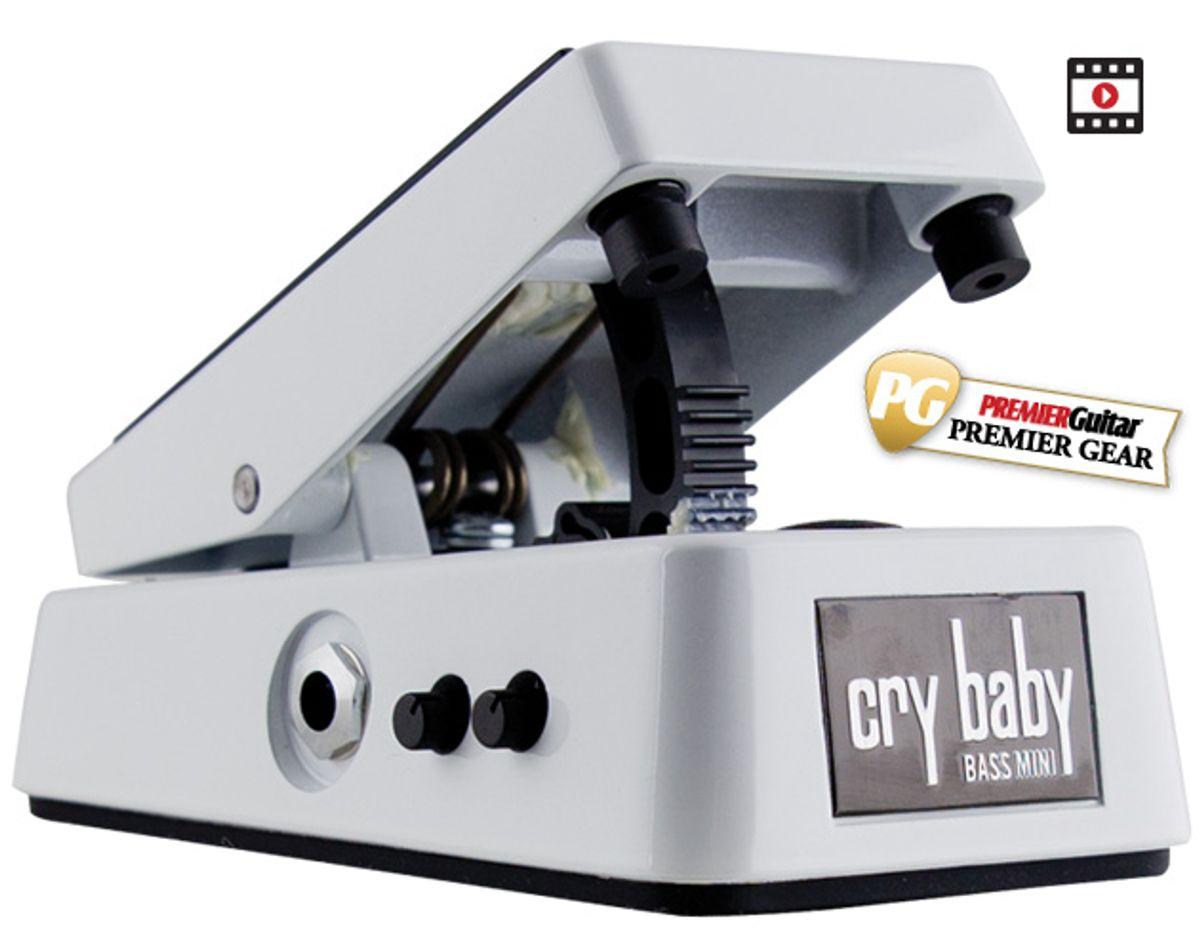 Dunlop CBM105Q Cry Baby Mini Bass Wah Review