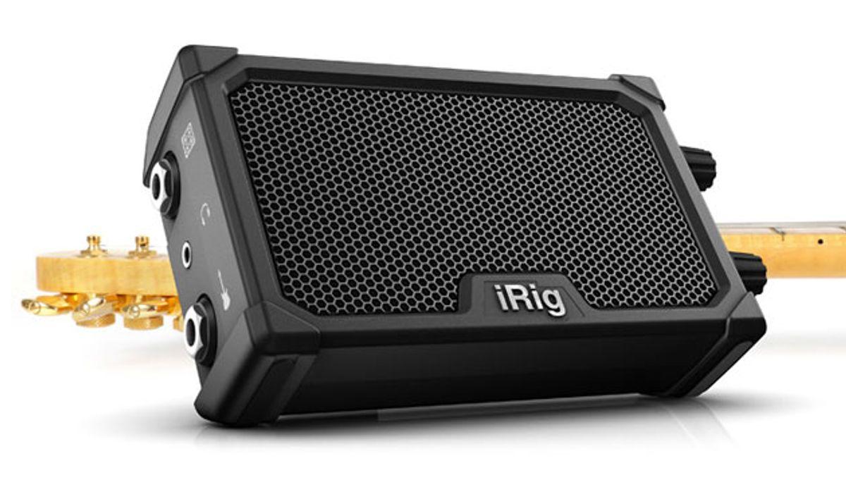 IK Multimedia Announces the iRig Nano Amp