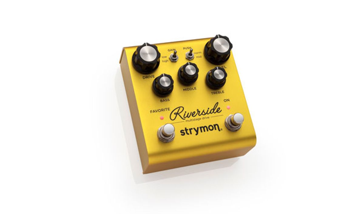 Strymon Announces the Riverside Multistage Drive