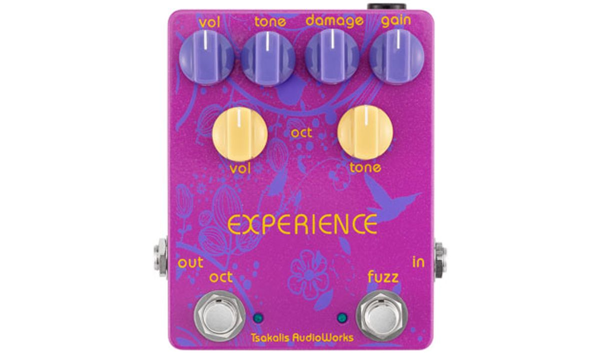 Tsakalis AudioWorks Introduces the Experience Fuzz Octave