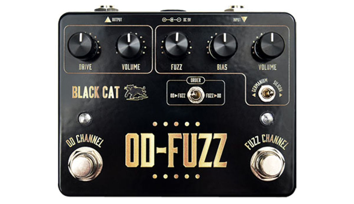 Black Cat Announces the Deluxe Edition OD-Fuzz