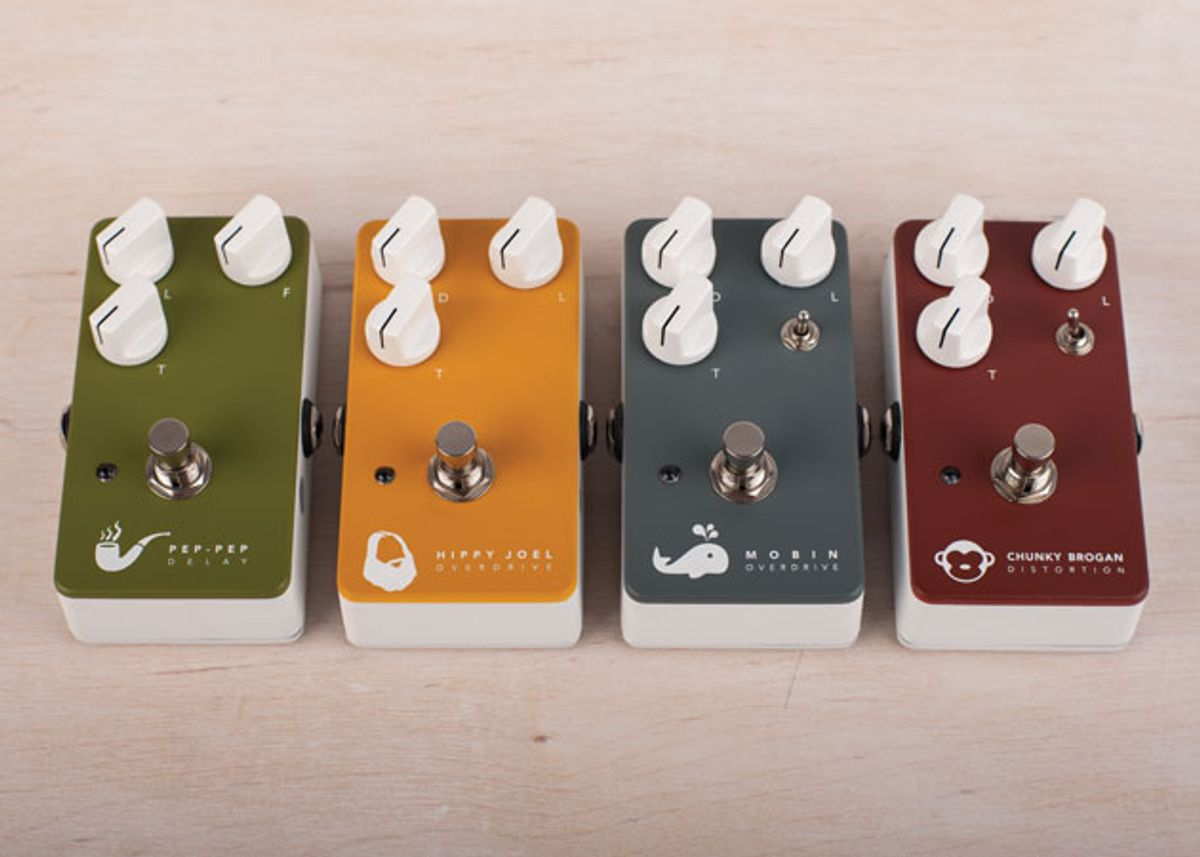 Sublime Guitar Company Unveils New Line of Pedals