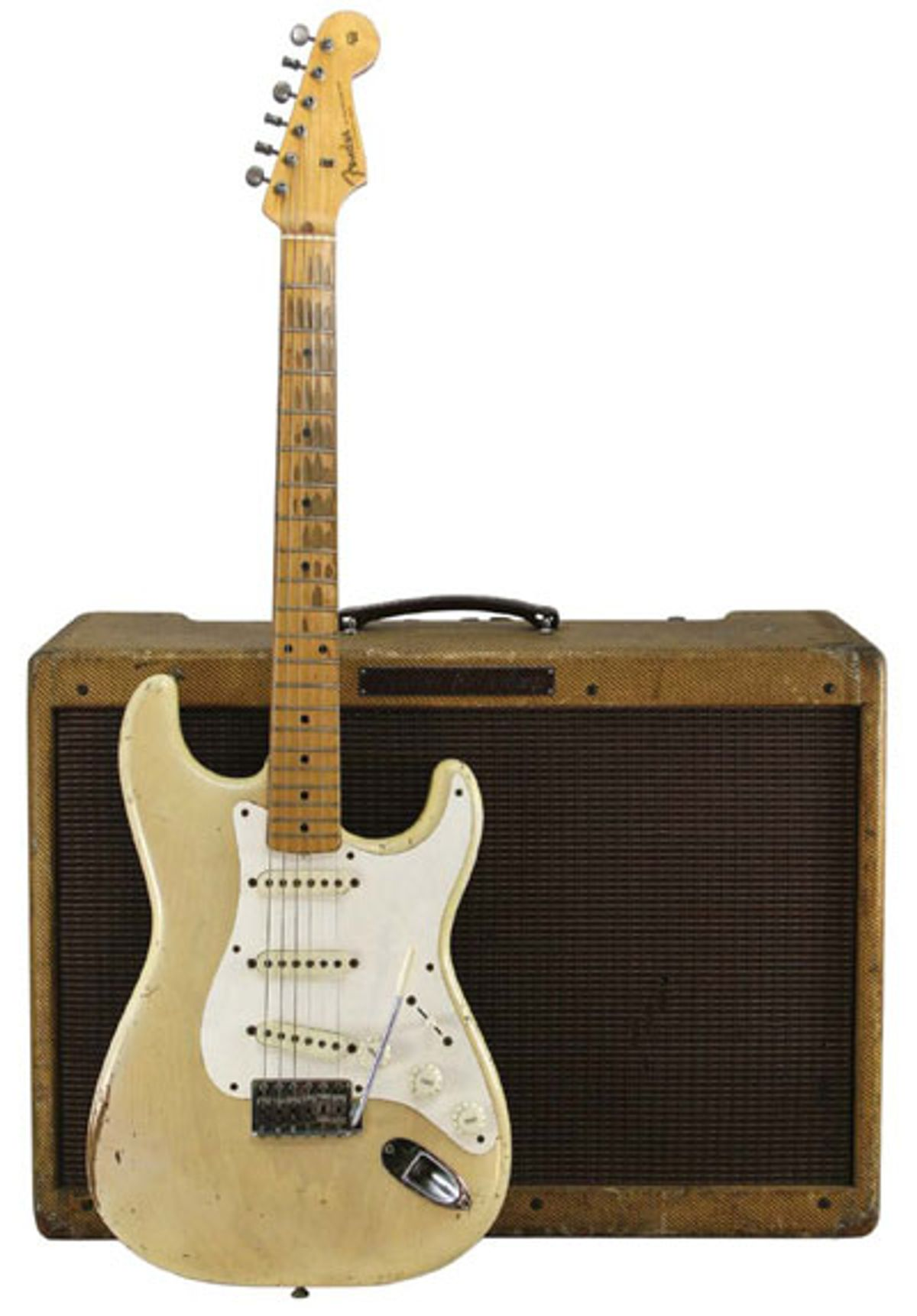 1958 Fender Strat & 1959 Fender Twin