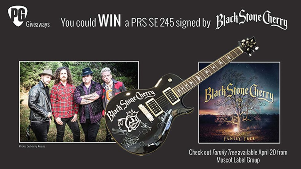 PG Giveaways: PRS SE 245 Signed by Black Stone Cherry