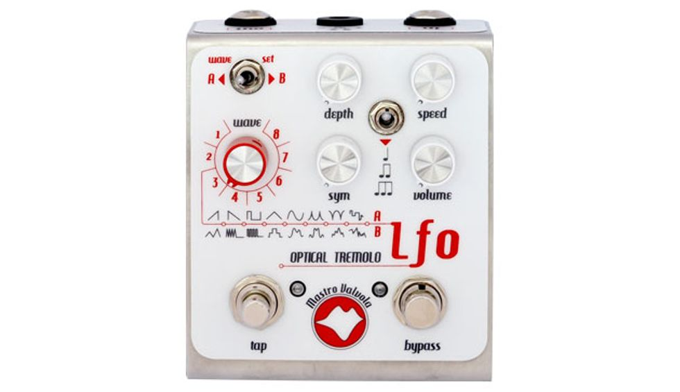 Mastro Valvola Pedals Unveils the LFO Optical Tremolo
