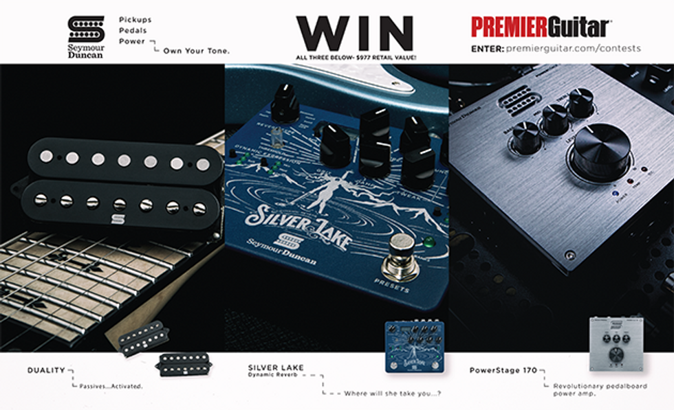 PG Giveaways: Seymour Duncan Giveaway