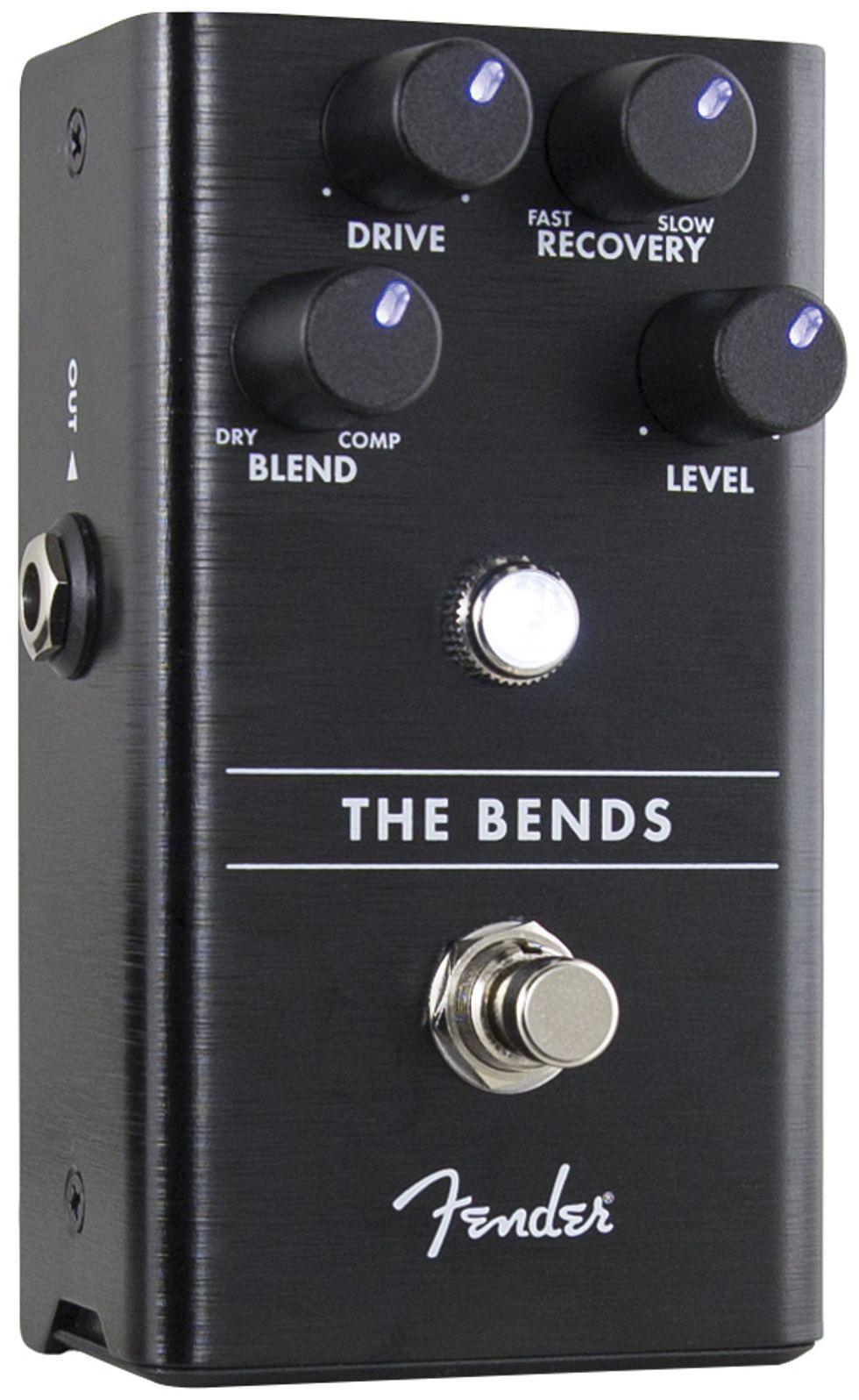 quick hit fender the bends compressor review premier guitar. Black Bedroom Furniture Sets. Home Design Ideas