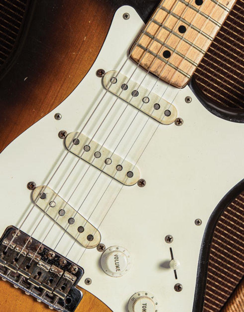 Vintage Vault: 1956 Fender Stratocaster (Serial #14220) and