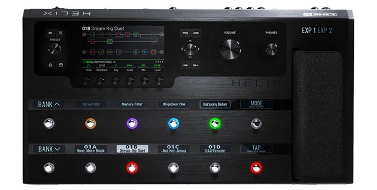 Line 6 Releases Helix