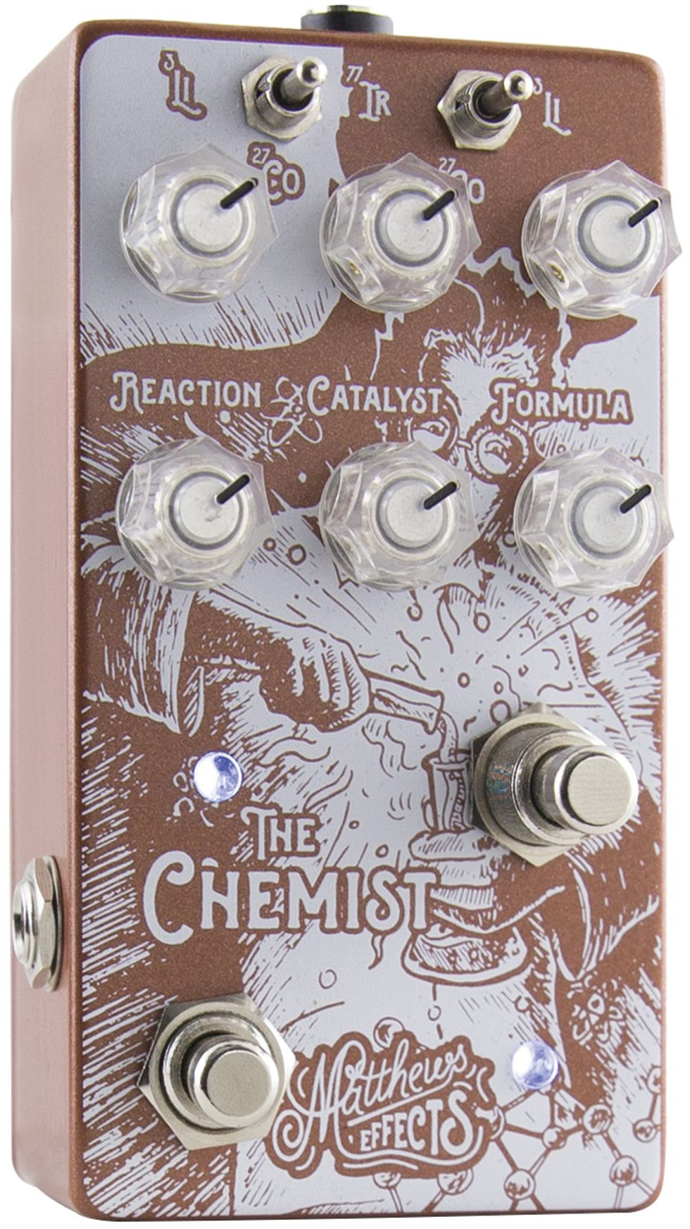 Matthews Effects The Chemist v1.5 Atomic Modulator Chorus Vibrato Phaser Octave
