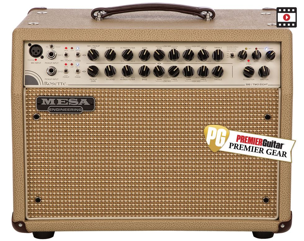 Mesa Boogie Rosette 300 Two Eight Review Premier Guitar