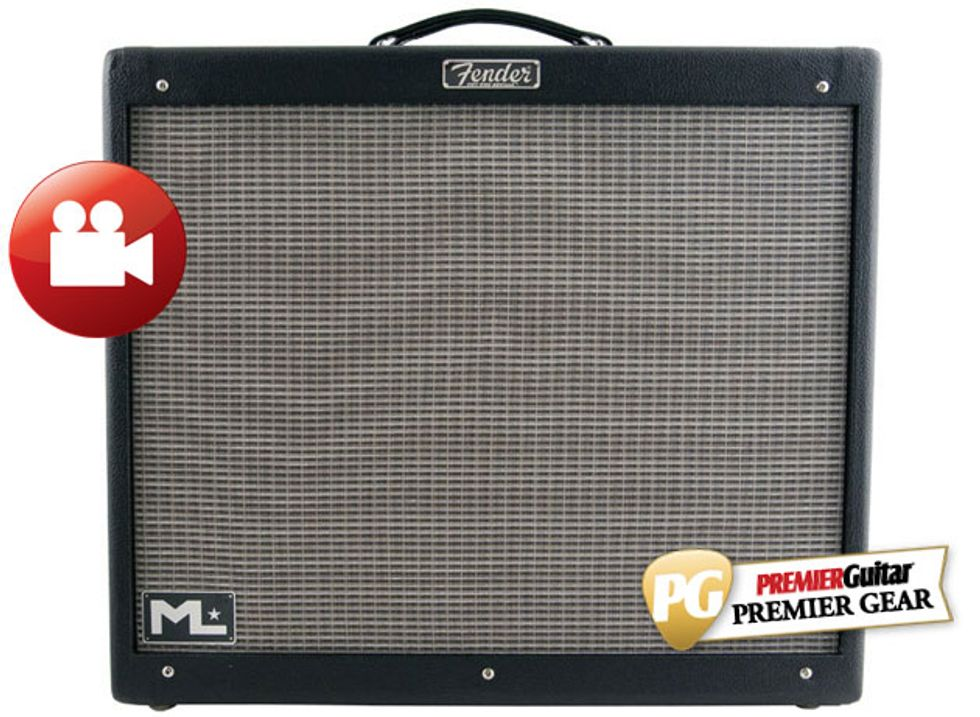 fender hot rod deville michael landau 2x12 review premier guitar. Black Bedroom Furniture Sets. Home Design Ideas