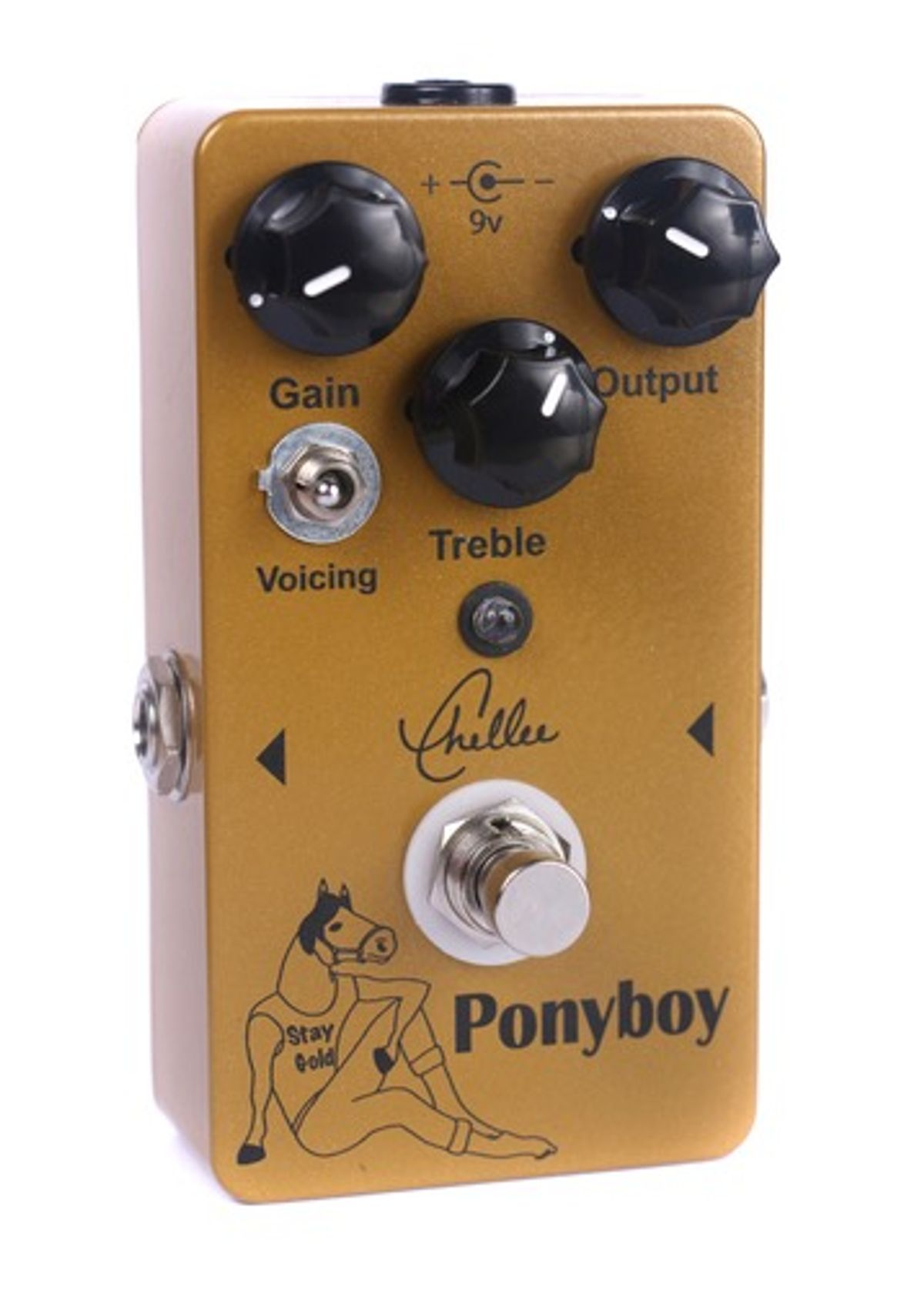 Chellee Guitars Announces the Ponyboy Overdrive
