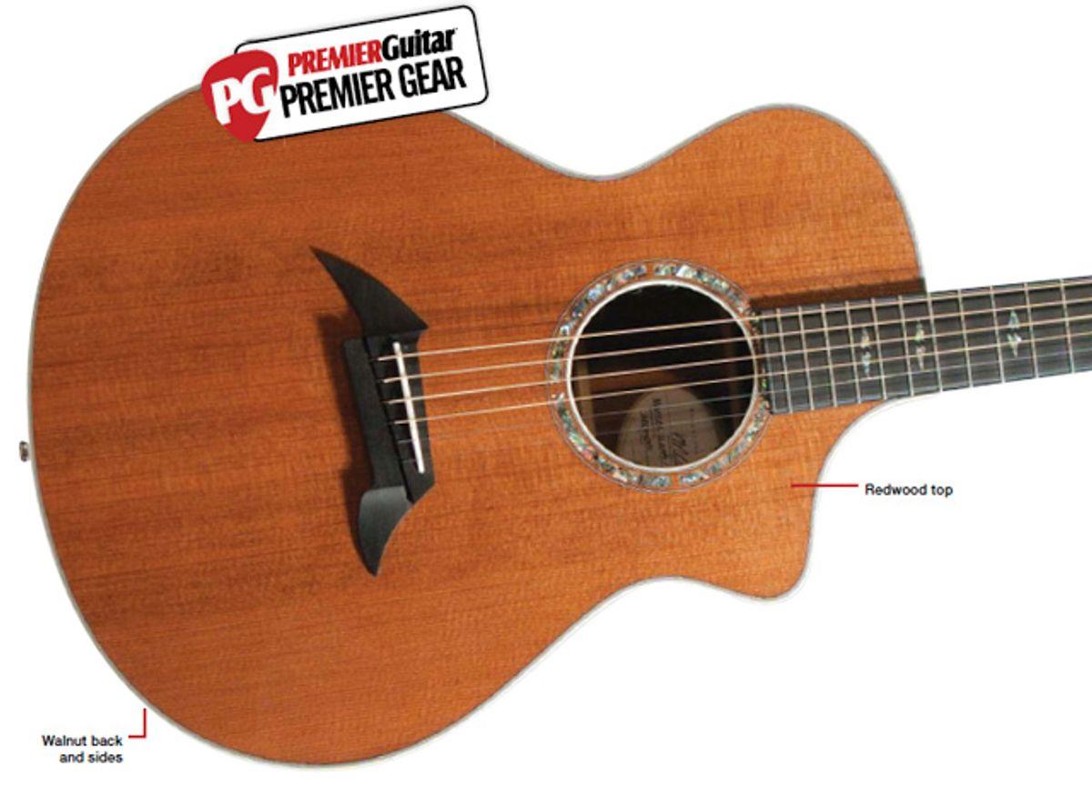 Breedlove Guitars Focus SE Custom Walnut Acoustic Guitar Review