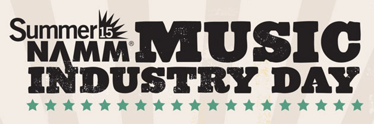 NAMM Announces Details of Music Industry Day