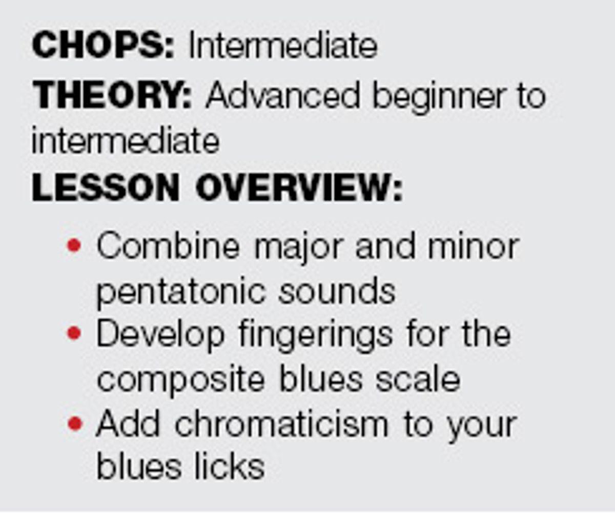 Beyond Blues: The Composite Blues Scale