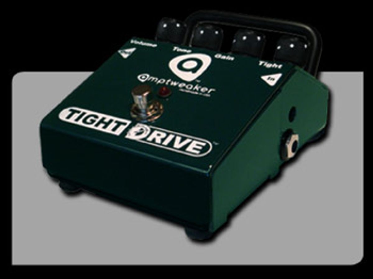 Amptweaker Announces First Consumer-Requested Pedal, the TightDrive