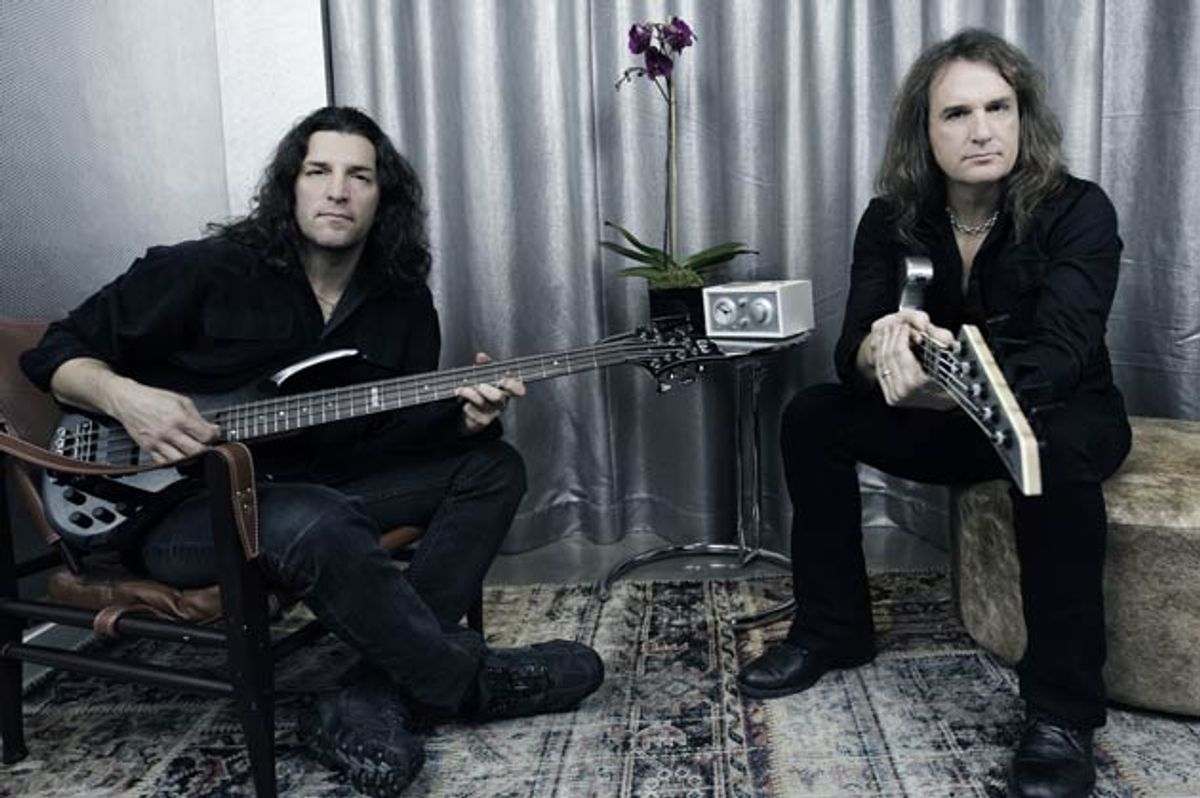 Frank Bello & Dave Ellefson: Altitudes & Attitude's High-Flying Bassists