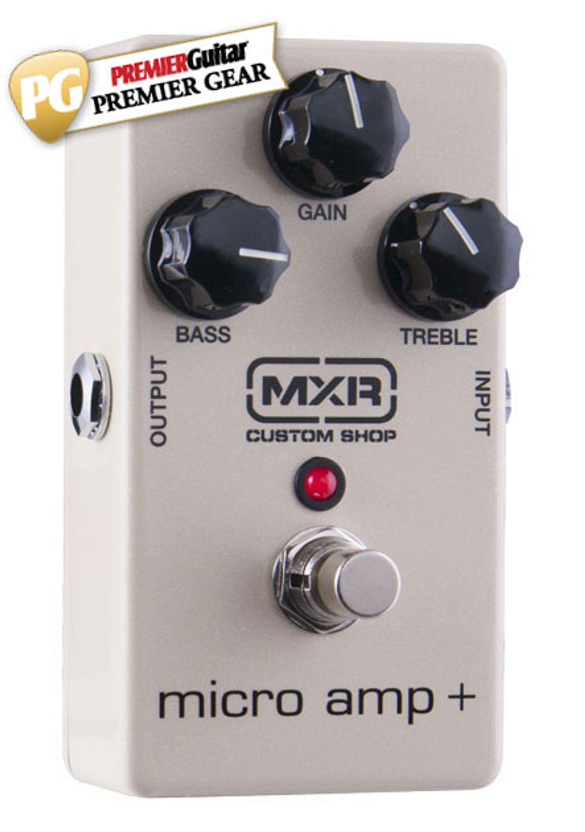 MXR Custom Shop Micro Amp+ Review