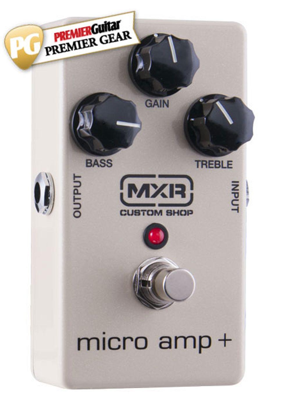 Toyota Little Rock >> MXR Custom Shop Micro Amp + Review | Premier Guitar