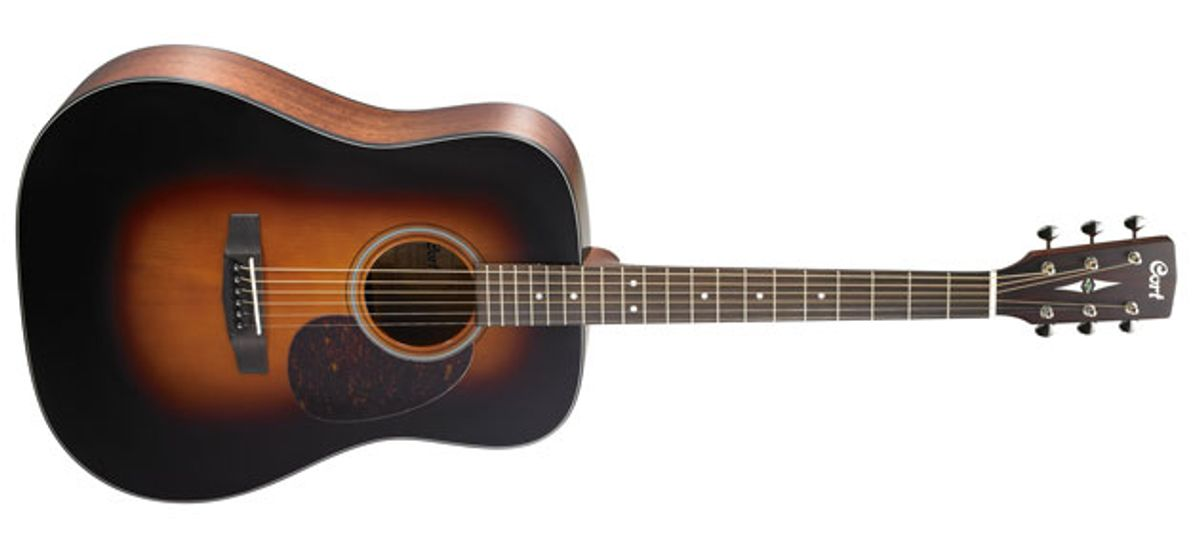 Cort Guitars Expands Earth Series of Acoustics