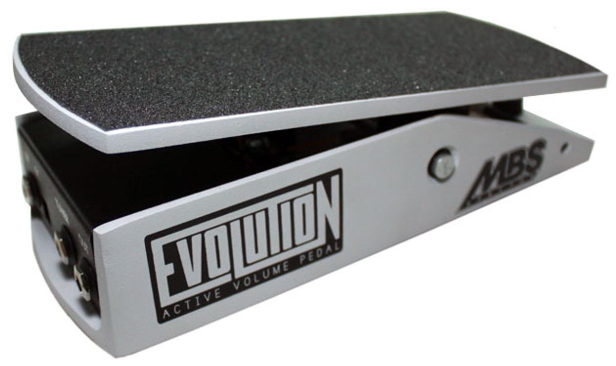 MBS Effectos Releases the Evolution Volume Pedal