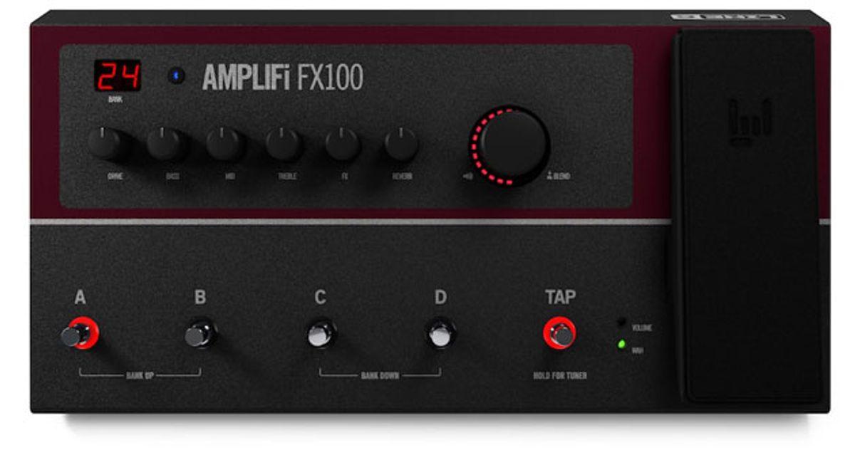 Line 6 Unveils the AMPLIFi FX100