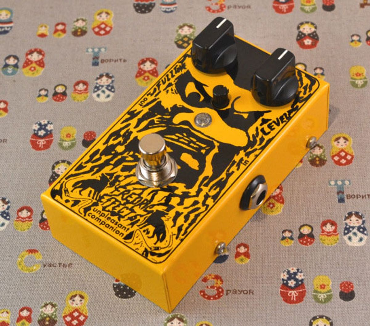 Fredric Effects Introduces the Unpleasant Companion MKII