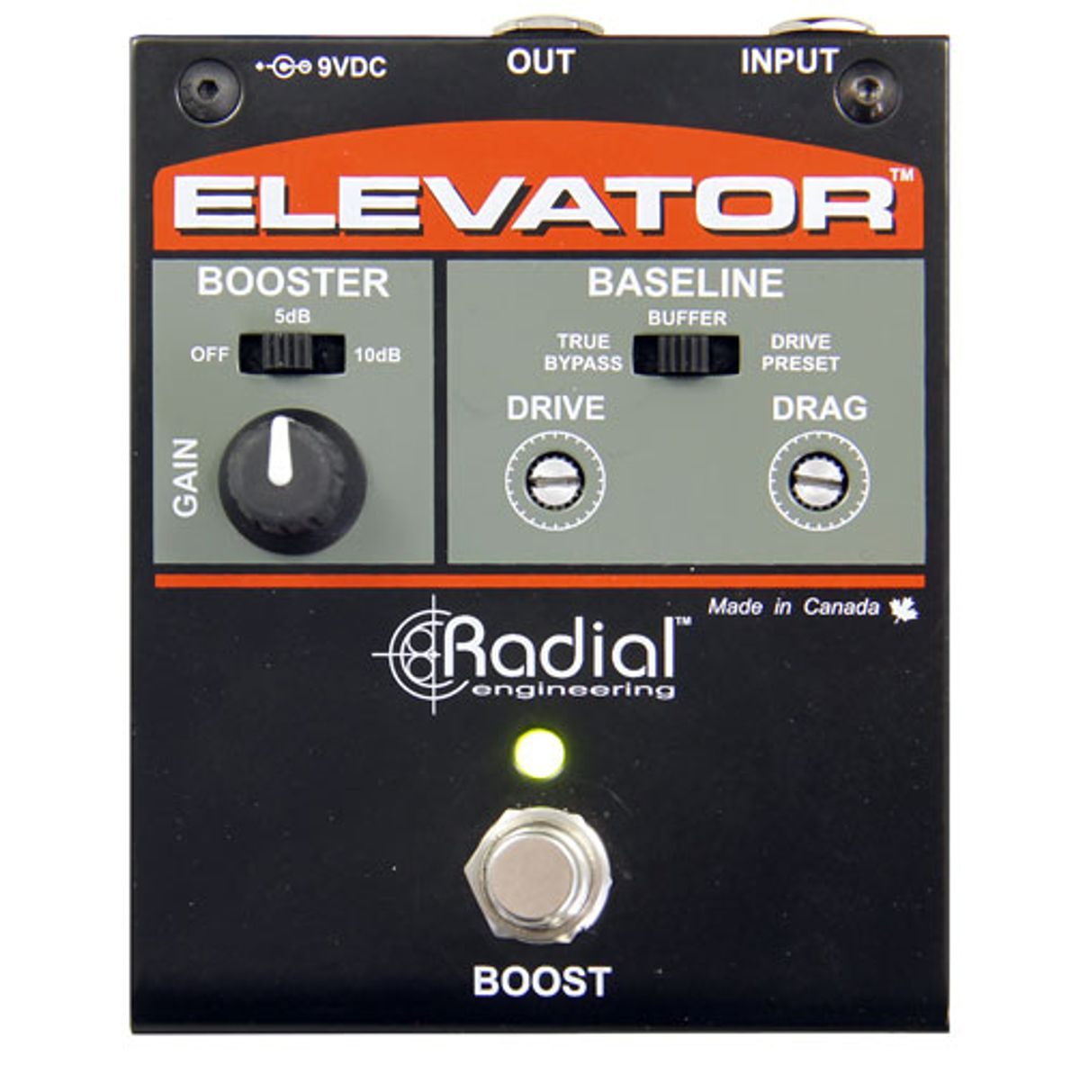 Radial Engineering Introduces the Elevator Buffer and Power Booster