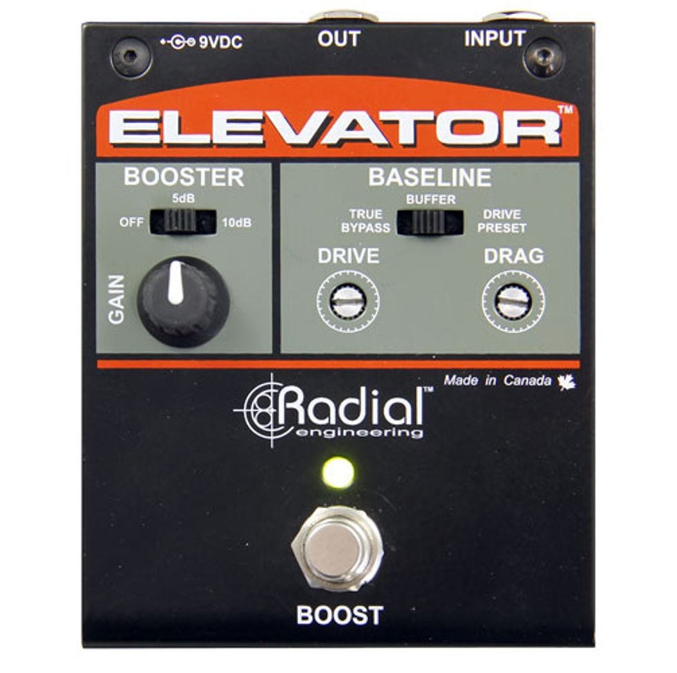 radial engineering introduces the elevator 2014 03 11 premier guitar. Black Bedroom Furniture Sets. Home Design Ideas