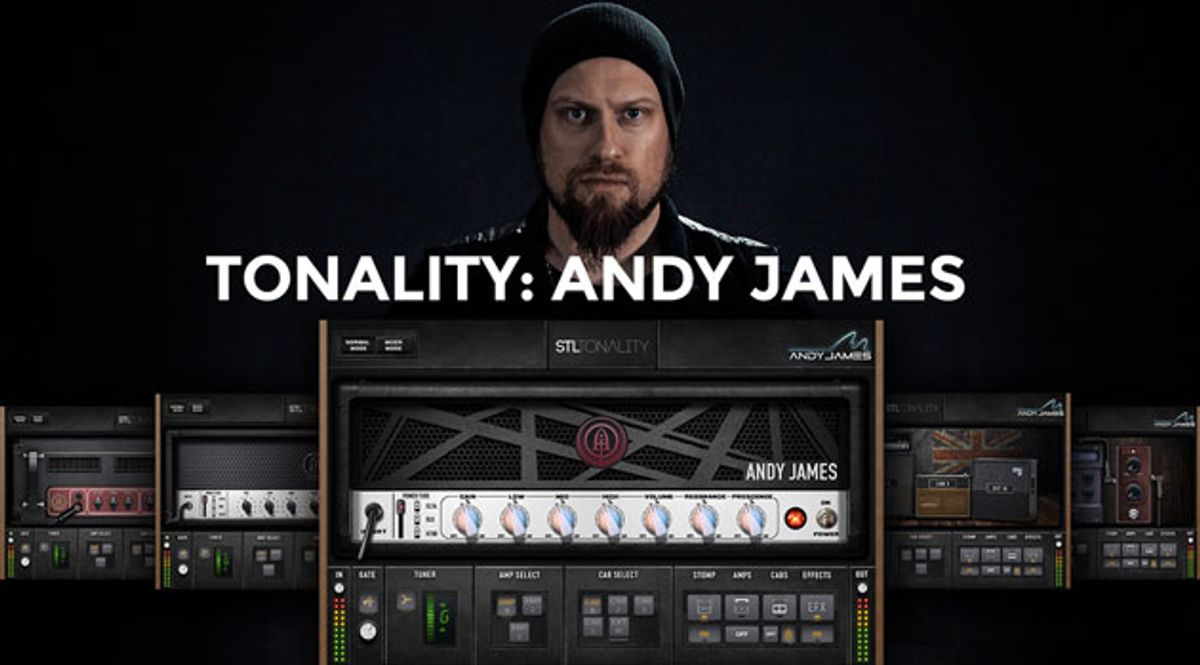 STL Unveils the Andy James Guitar Plug-In Suite