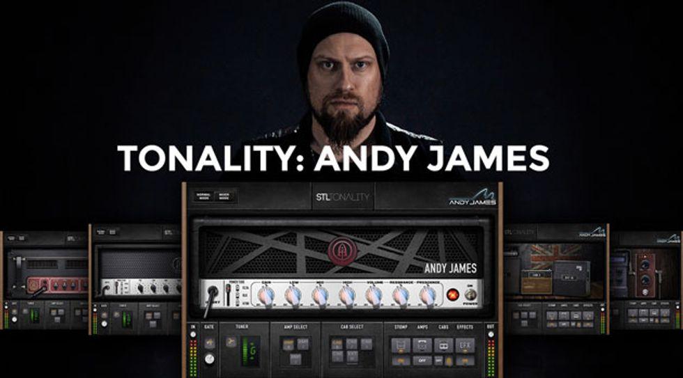 STL Unveils the Andy James Guitar Plug-In Suite | Premier Guitar
