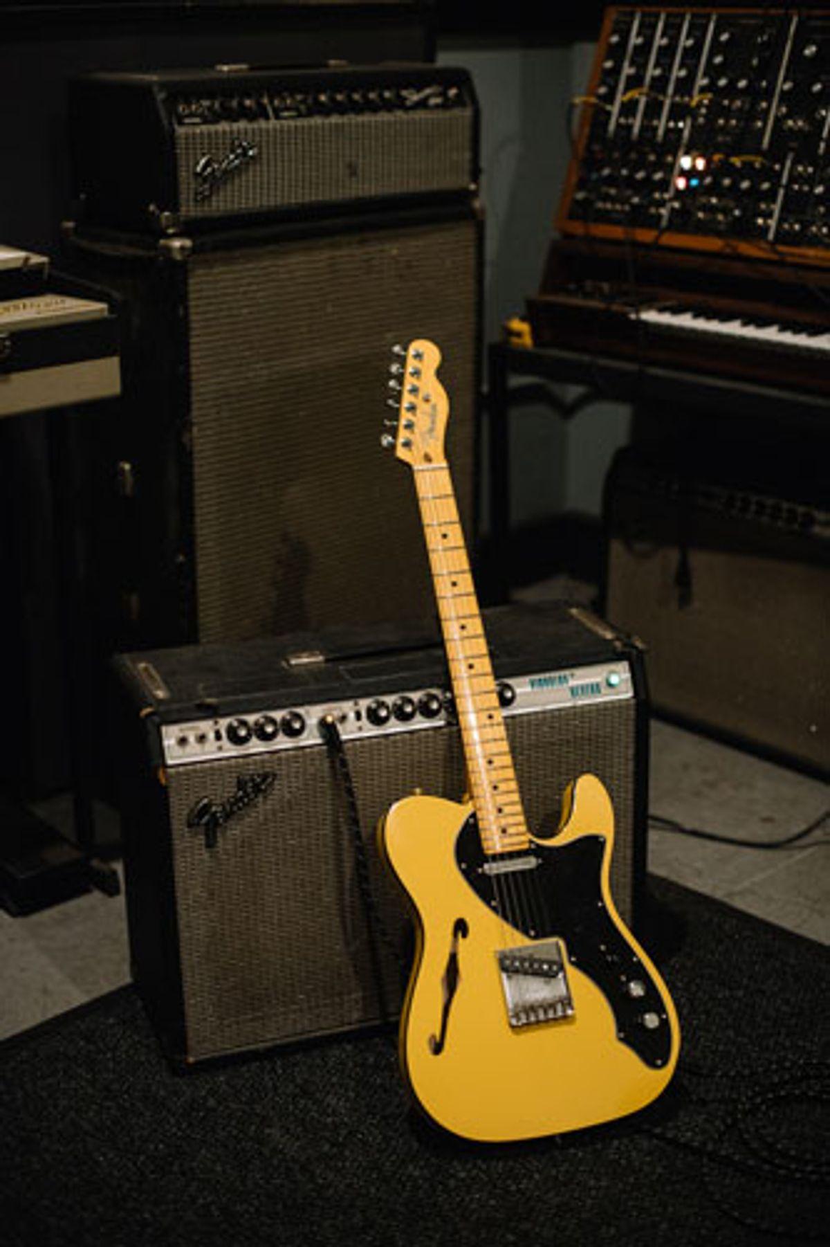 Fender Releases Britt Daniel Artist Signature Tele Thinline