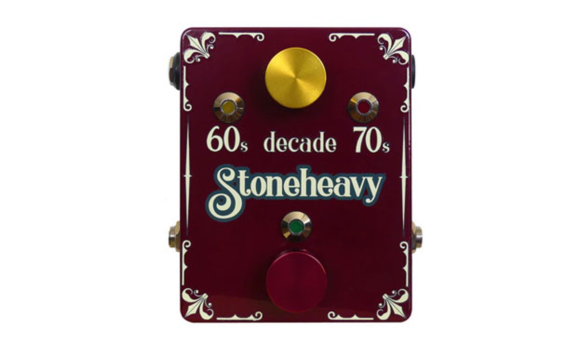 Stone Heavy Sound Introduces the Decade Pedal