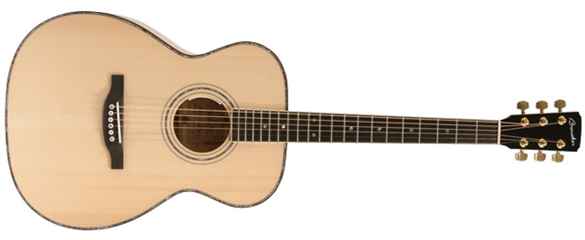 Boucher Guitars AVT Spruce Goose OOO Acoustic Guitar Review