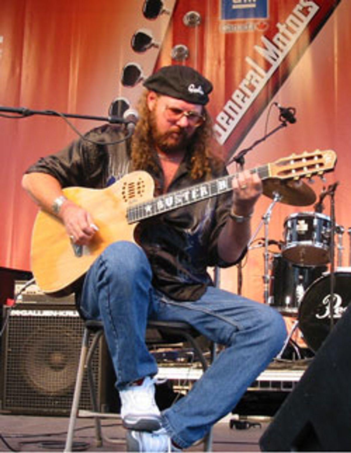 Godin Guitars Mourns Loss of Dear Friend & Musical Gem Buster B. Jones